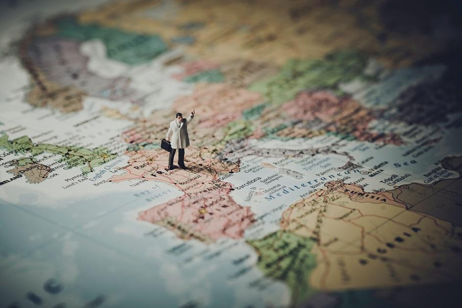 Európai Unió, térkép, utazás