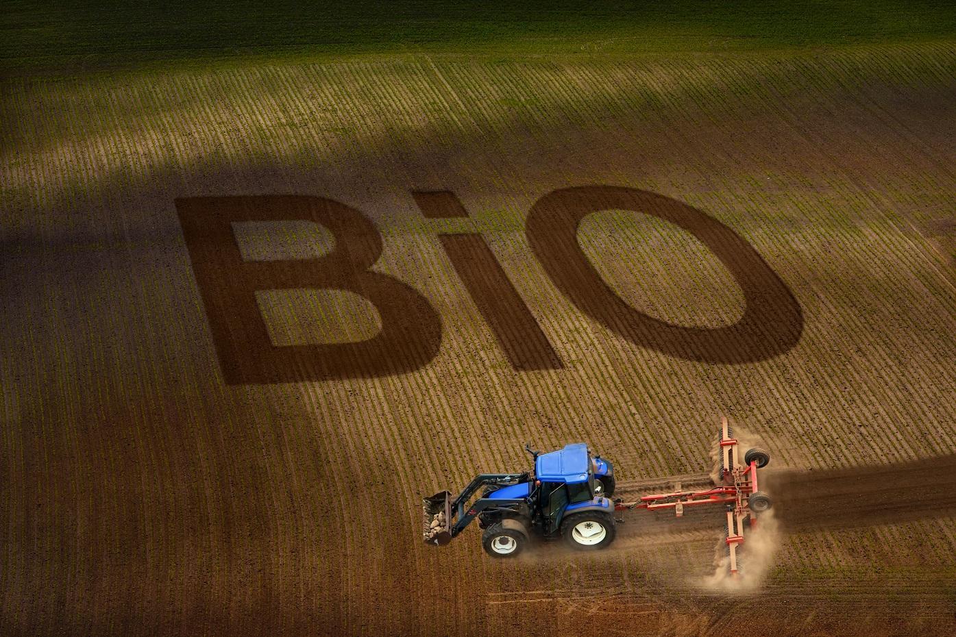 bio, föld, traktor, szántás