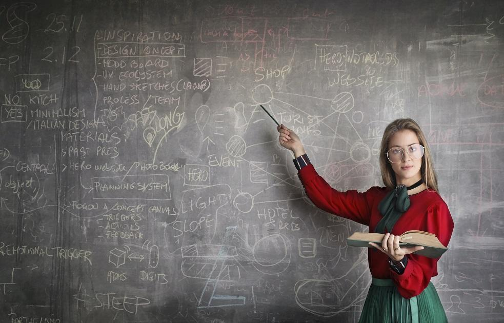 képzés, tanár, tanterem