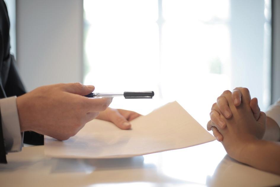 hitelszerződés, aláírás, hitelügylet