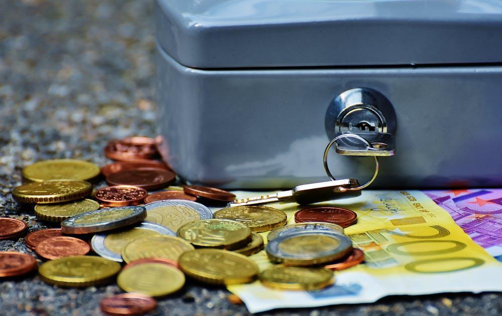 pénz, euró, kassza