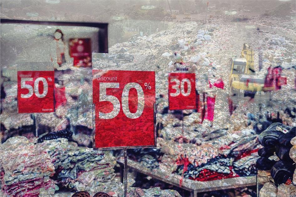 leárazás, butik, divat, olcsó, szeméttelep