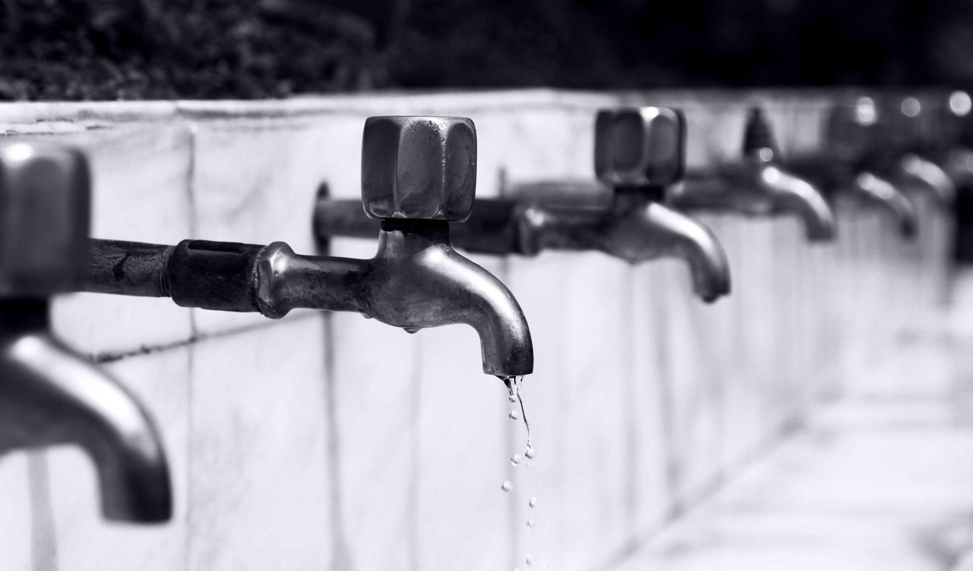 vízcsap, vízközmű