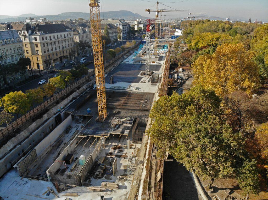 Budapest, beruházás, építkezés